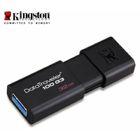 Kingston 32GB USB3.0 Flash Drive Memory Stick Thumb Key DataTraveler DT100G3