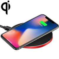 Qi Ultra-Thin Aluminum Alloy Wireless Fast Charging Qi Charger Pad