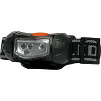 Adjustable headband 4 LED 8 lumens Brightness Torch for Cyclist