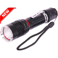 USB Rechargeable LED Aluminium Hand Torch