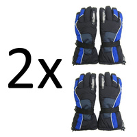 2X Zero Degree Winter Snowboard Adult SKI GLOVES Pair NEW with Tags ZE0001