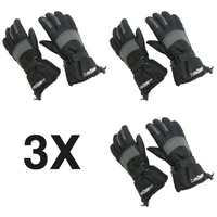 3X Zero Degree Winter Thinsulate Adult SKI GLOVES Pair New with Tags ZE0002